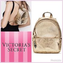 Victoria's Secret mini city backpack ミニ バックパック gold