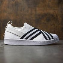【セール】adidas: WHITE MOUNTAINEERING SUPERSTAR SLIP-ON