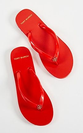 Tory Burch サンダル・ミュール 【TORY BURCH】Solid Thin Flip Flops  * ビーチサンダル(5)