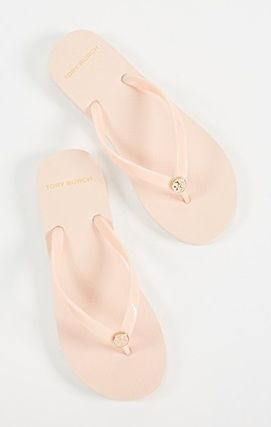 Tory Burch サンダル・ミュール 【TORY BURCH】Solid Thin Flip Flops  * ビーチサンダル(9)