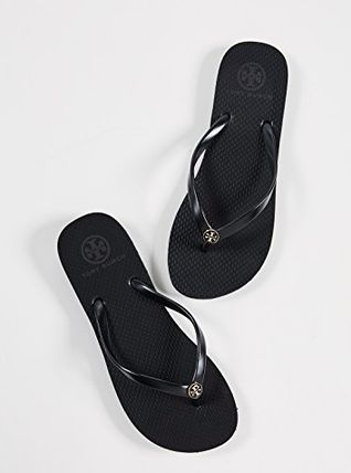 Tory Burch サンダル・ミュール 【TORY BURCH】Solid Thin Flip Flops  * ビーチサンダル(12)