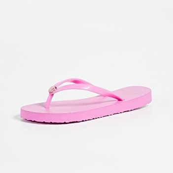 Tory Burch サンダル・ミュール 【TORY BURCH】Solid Thin Flip Flops  * ビーチサンダル(17)
