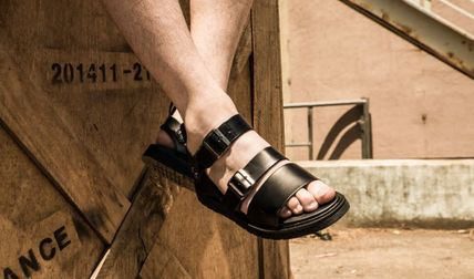 BSQT サンダル 大人気!!【BSQT by Classy 】331 BRUSSELS DOUBLE STRAP/BLACK(10)