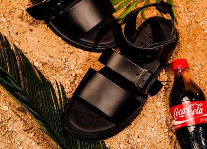 BSQT サンダル 大人気!!【BSQT by Classy 】331 BRUSSELS DOUBLE STRAP/BLACK(12)