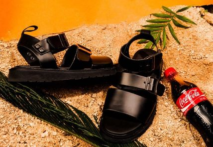 BSQT サンダル 大人気!!【BSQT by Classy 】331 BRUSSELS DOUBLE STRAP/BLACK(13)