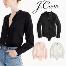 J CREW シルクボディスーツ Stretch tailored perfect bodysuit