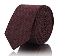 "☆SAINT LAURENT☆ ""Y"" Jacquard Silk Necktie"