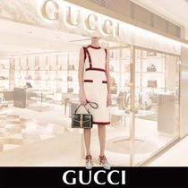 GUCCI jersey midi Dress with sylvie 関税送料込