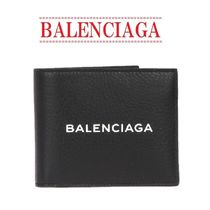 【BALENCIAGA】Square Everyday leather wallet