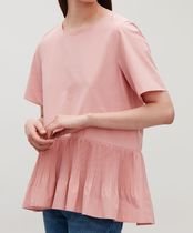 """""""COS"""" PLEAT-PANELLED TOP PINK"""