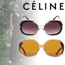 CELINE★Butterfly sunglasses in acetate and metal 2色
