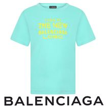 BALENCIAGA Turquoise Cotton Top 関税送料込