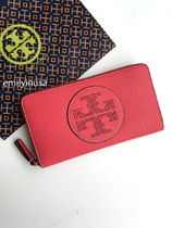 即発 TORY BURCH★Perforated-logo Wallet 長財布 36730