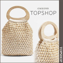 【国内発送・関税込】TOPSHOP★Beaded Tote Bag