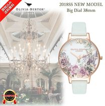NEW☆◆Olivia Burton◆優美で気品のある Garden Big Watch