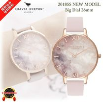 NEW☆◆Olivia Burton◆愛を表す石 Semi Precious Big Watch