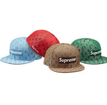SUPREME x New Era  SS18 Week10 Monogram Box Logo $