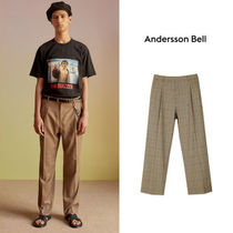 ANDERSSON BELL(アンダースンベル) パンツ ANDERSSON BELL正規品★18SS セミワイドトラウザーズ