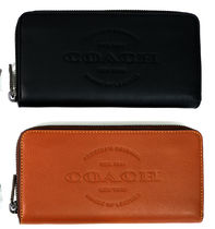 国内即発☆COACH☆LEATHER ACCORDION WALLET☆iPhone-X 収納可