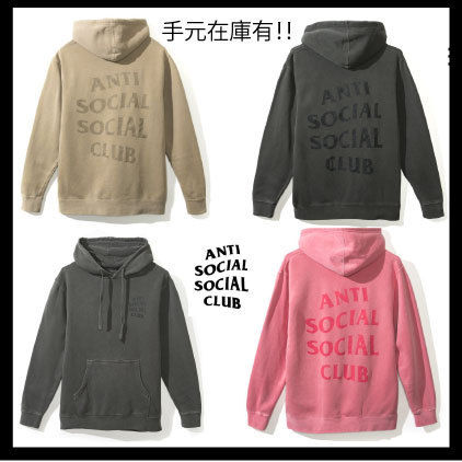 【希少】Anti Social Social Club/ Ghosted Black パーカー