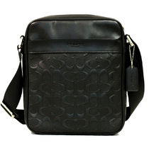 ☆COACH☆CHARLES FLIGHT BAG IN SIGNATURE CROSSGRAIN LEATHER