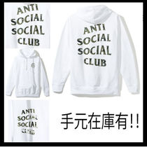 【希少】Anti Social Social Club/ Woody  パーカー【送関込】