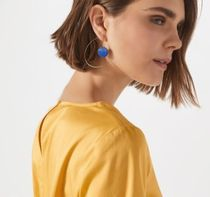 【JIGSAW】 HALF CIRCLE STATEMENT EARRINGS