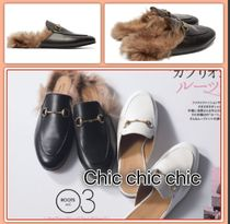 VERY掲載 GUCCI Princetown プリンスタウン レザー
