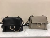 VIP SALE!!!【Chloe】 Small Faye Day Bag (Black/Motty Grey)