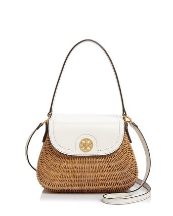 素敵なかごバック★Tory Burch Lacquered Rattan Basket