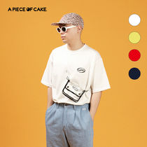 A PIECE OF CAKE(ピースオブケイク) Tシャツ・カットソー ★A PIECE OF CAKE★ Oval Logo 1/2 T-shirts