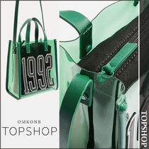 【国内発送・関税込】TOPSHOP★1992 Green Perspex Tote Bag