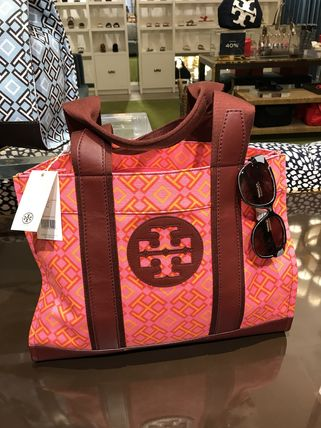 Tory Burch トートバッグ 最新トリーバーチ*4T PRINTED TOTE/36720円(5)