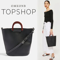 【国内発送・関税込】TOPSHOP★Black Tote Bag
