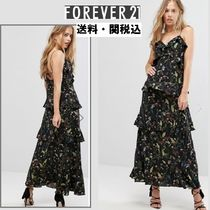 Forever Unique(フォーエバーユニーク) ワンピース Forever New Tieredフリルマキシドレス