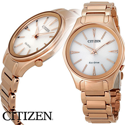 Citizen Modena Eco Drive レディース 腕時計 EM0593-56A