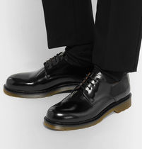 【AMI ALEXANDRE MATTIUSSI】Polished-Leather Derby Shoes