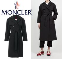2018AW【MONCLER】Black Roche Trench Coat★トレンチコート★黒