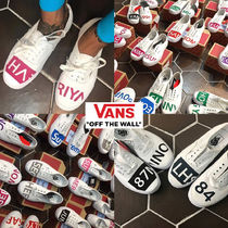 内容はご自由に◆[VANS]◆HAND PAINTING INITIALS AUTHENTIC