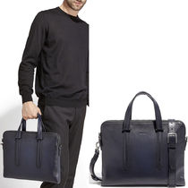 18SS SF177 2-ZIP BRIEFCASE WITH SHADING DETAIL