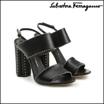 Salvatore Ferragamo★Capri Embellished Leather Sandals