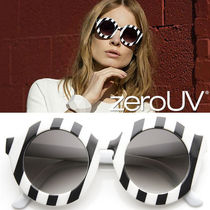 全4色zeroUV*TRENDY WOMENS OVERSIZE ROUND CIRCLE SUNGLASSES
