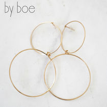 by boe(バイボー) ピアス by boe ワイヤー 2フープ ピアス