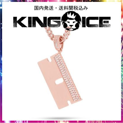 King Ice ネックレス・チョーカー 日本未入荷☆KING ICE☆The Barber Shop RZR Blade Necklace