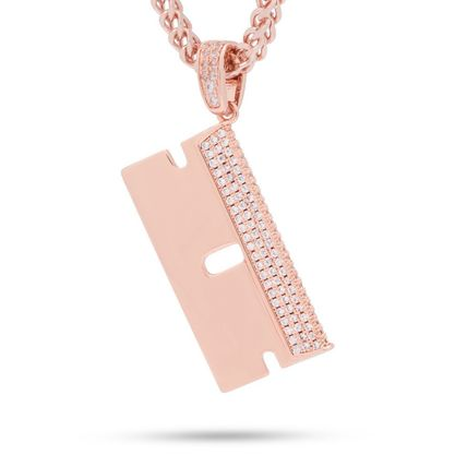 King Ice ネックレス・チョーカー 日本未入荷☆KING ICE☆The Barber Shop RZR Blade Necklace(2)