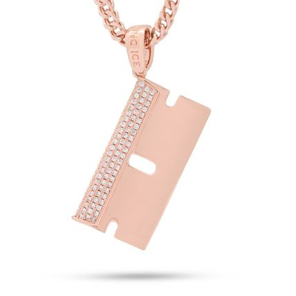 King Ice ネックレス・チョーカー 日本未入荷☆KING ICE☆The Barber Shop RZR Blade Necklace(3)