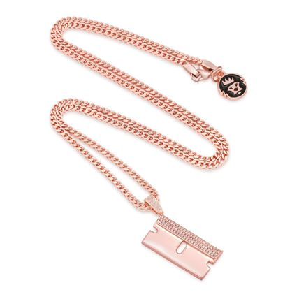 King Ice ネックレス・チョーカー 日本未入荷☆KING ICE☆The Barber Shop RZR Blade Necklace(4)