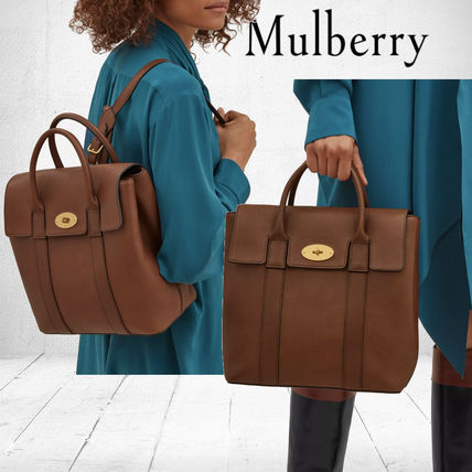 Mulberry バックパック・リュック Mulberry ベイズウォーターバックパック Oak Small 送料込