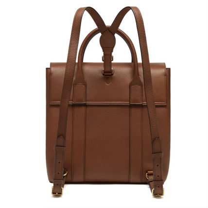 Mulberry バックパック・リュック Mulberry ベイズウォーターバックパック Oak Small 送料込(3)