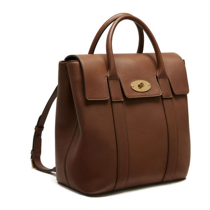Mulberry バックパック・リュック Mulberry ベイズウォーターバックパック Oak Small 送料込(4)
